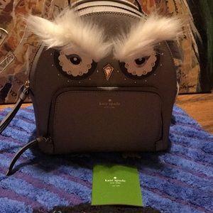 Kate Spade Tomi owl backpack